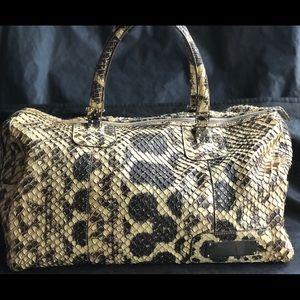 AMAZING!!!Authentic Balenciaga Snake Skin Handbag
